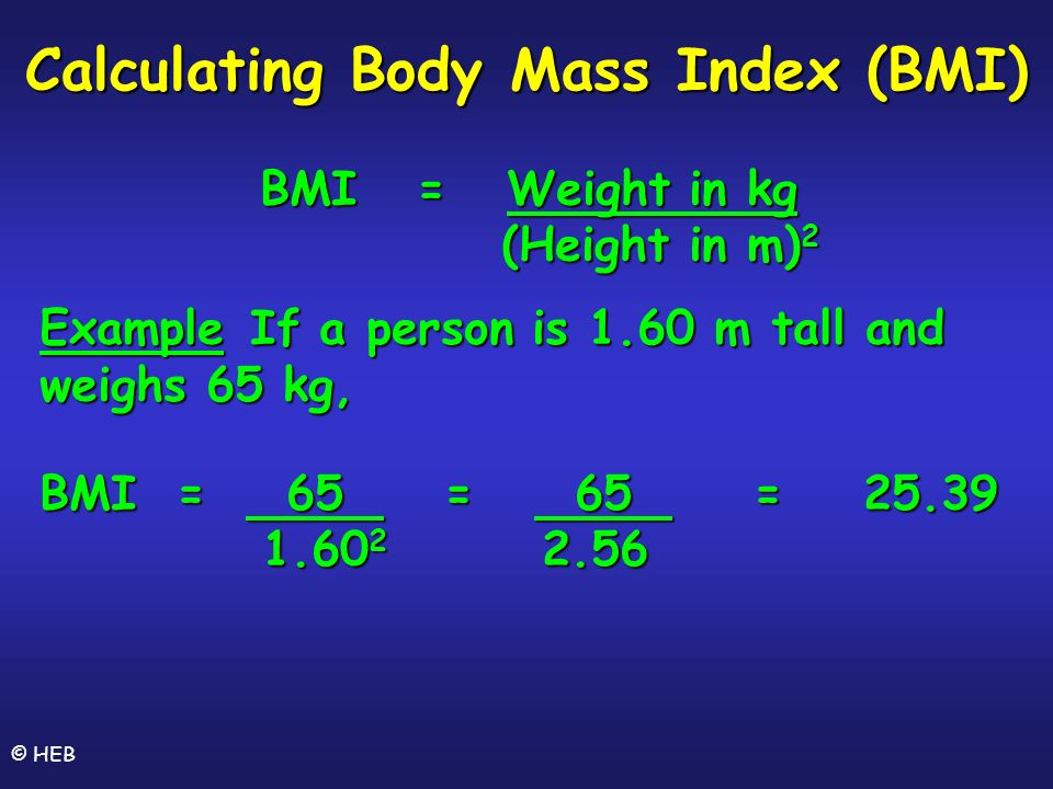 How To Calculate Body Mass Index Formula ✓ How to - bmi calculation formula