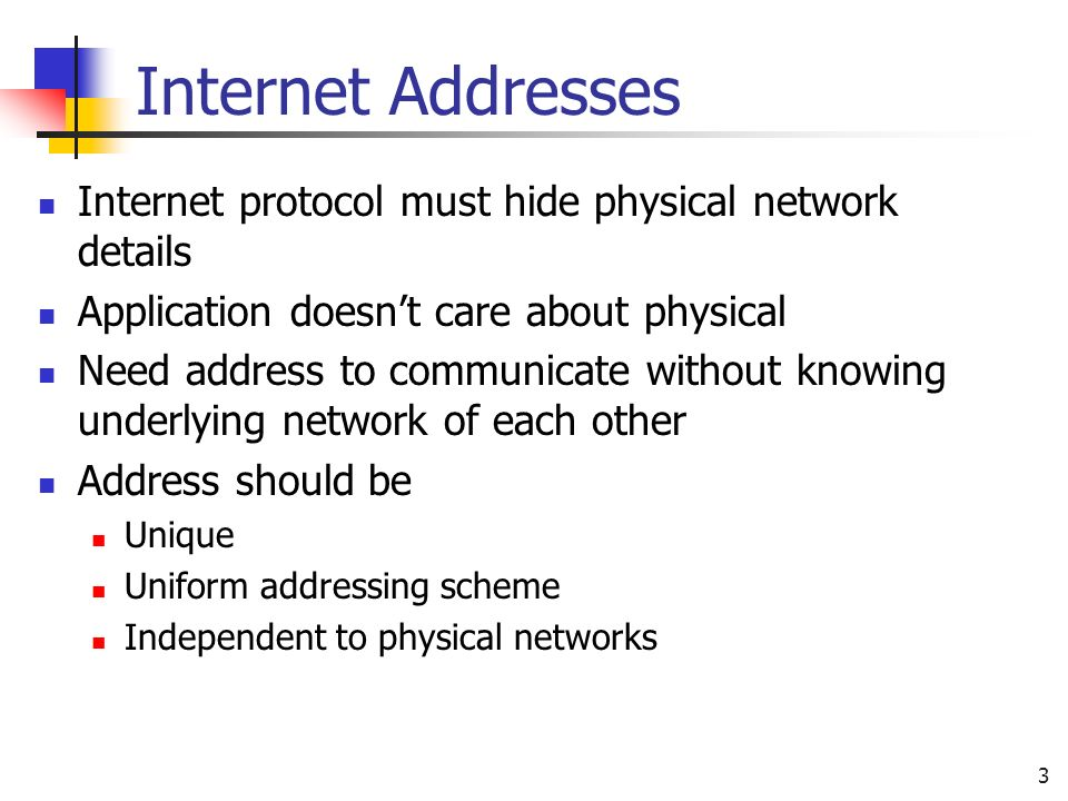 Subnet Design and IP Addressing - ppt video online download