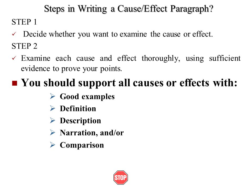 Cause And Effect Writing Definition - What is a Cause and Effect Essay?