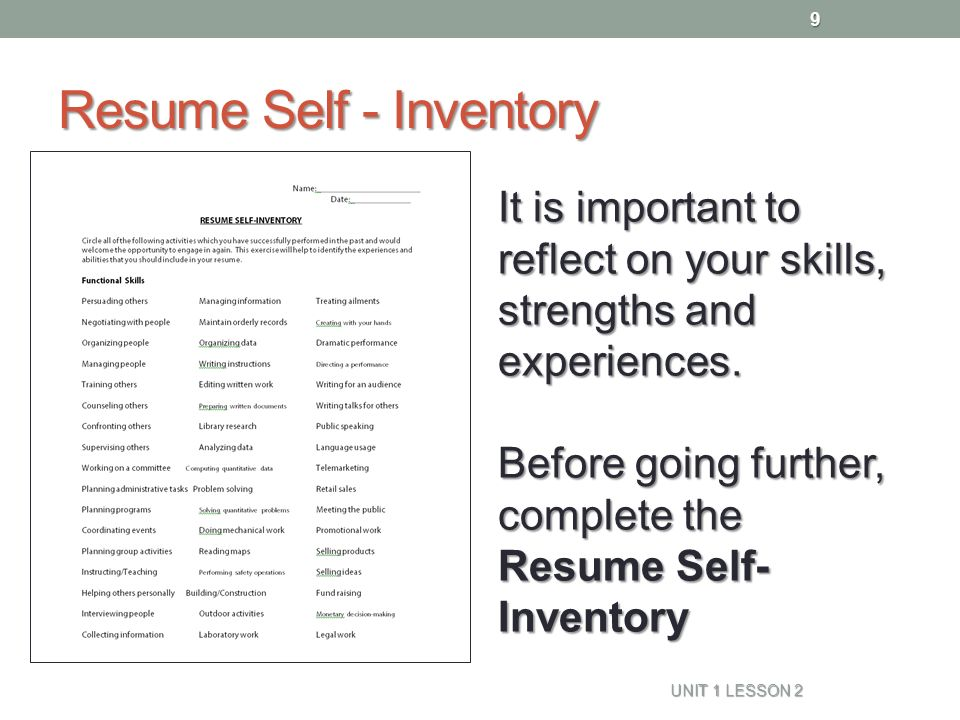 Resume Naviance Family Connection - ppt video online download