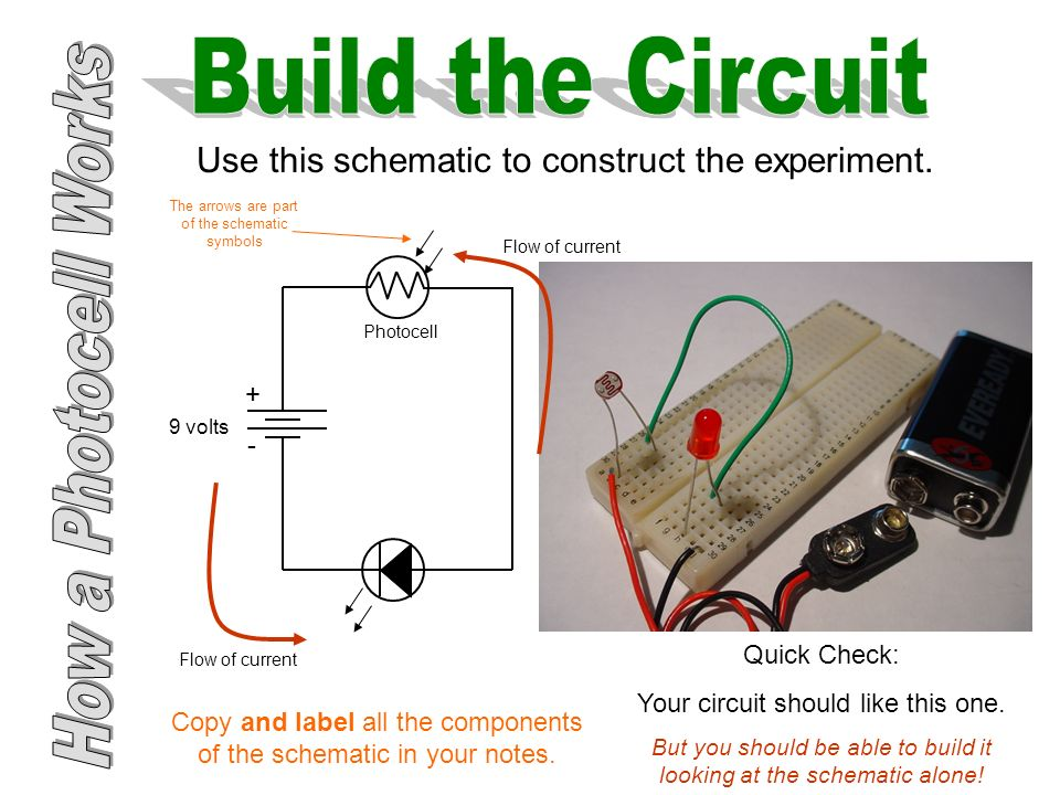 How a Photocell Works - ppt download