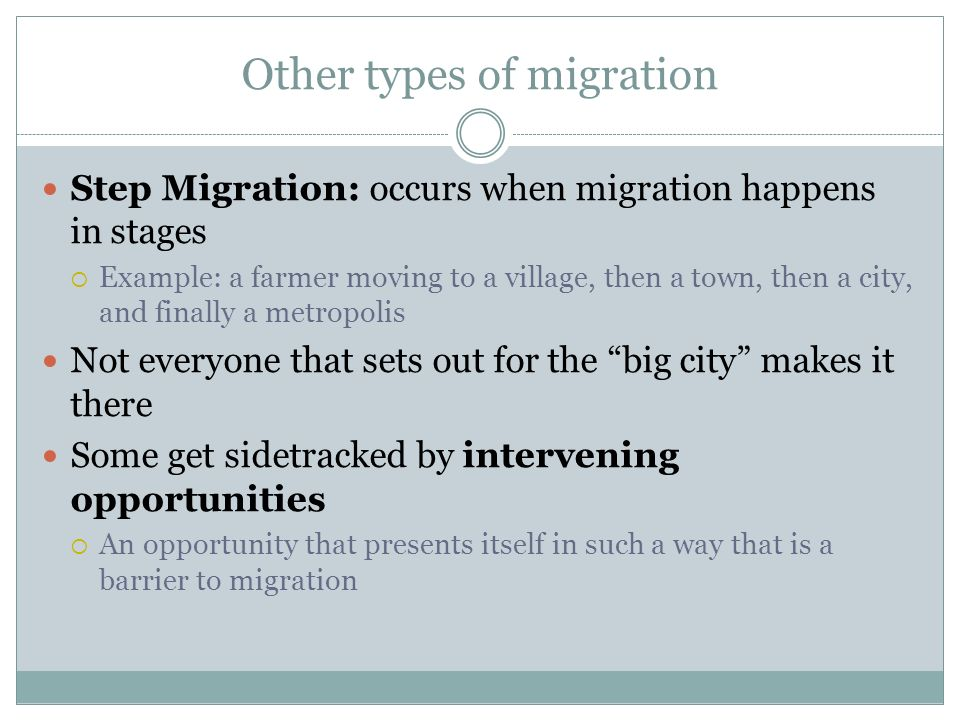Forced and Voluntary Migration - ppt video online download