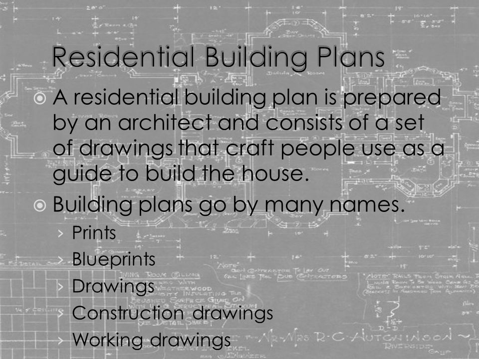 Residential Floor Plans - ppt video online download
