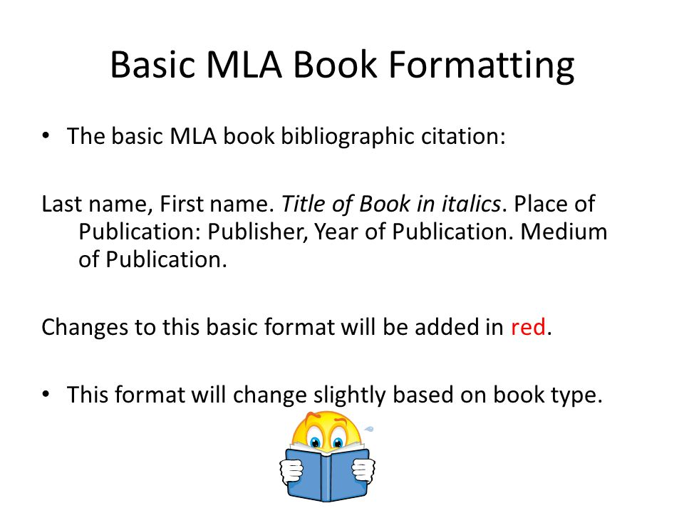 MLA Bibliography Book Sources - ppt video online download - Mla Work Cited Book