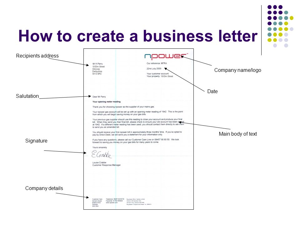 Business documents Business Letters - ppt video online download