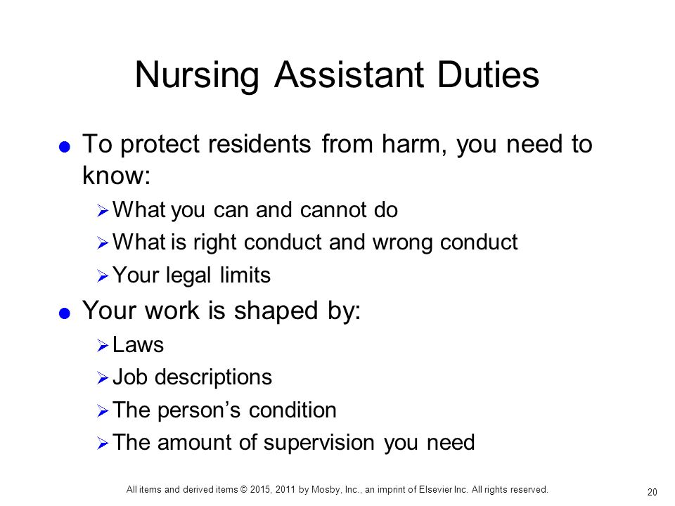 The Nursing Assistant Working in Long-Term Care - ppt download