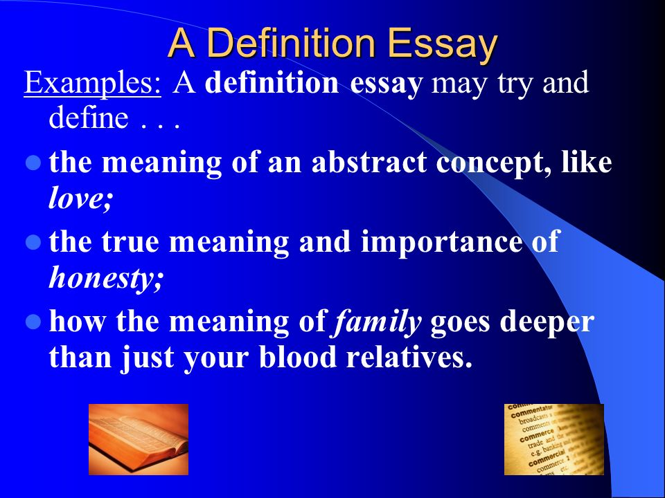 Extended Definition Essay Love Creativecardco