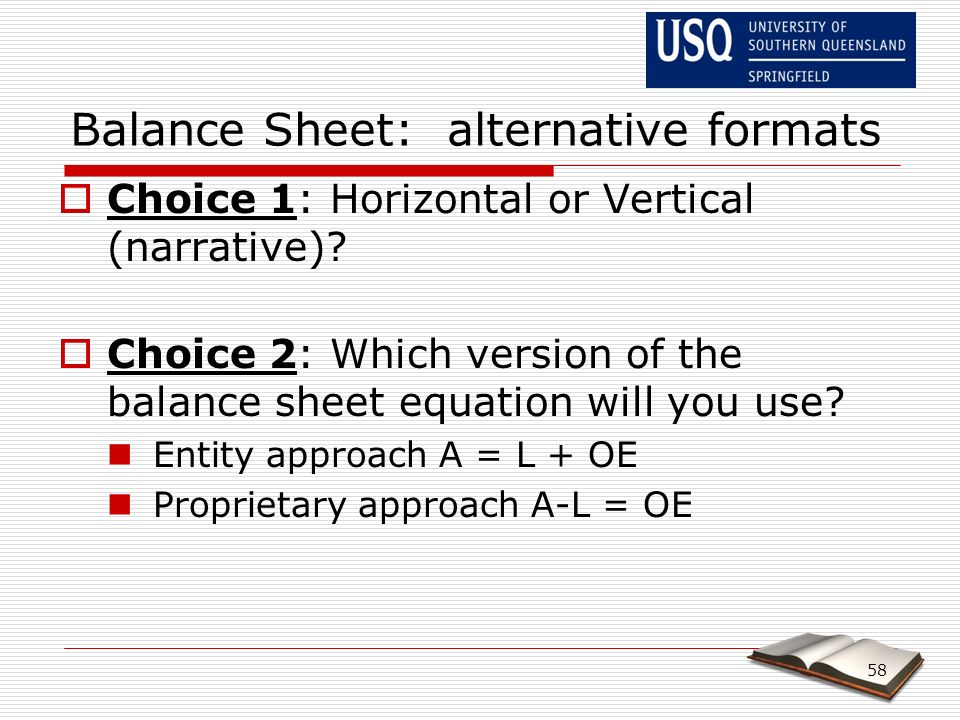 The process of Accounting  The Balance Sheet - ppt video online