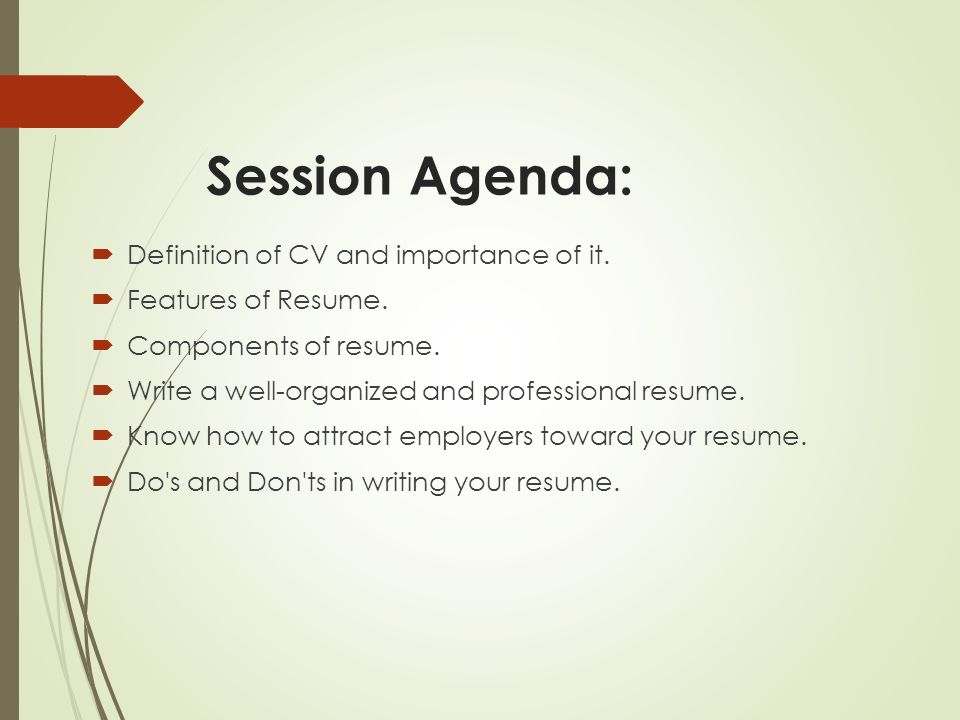 Your way toward professional Resume - ppt video online download - how to do your resume
