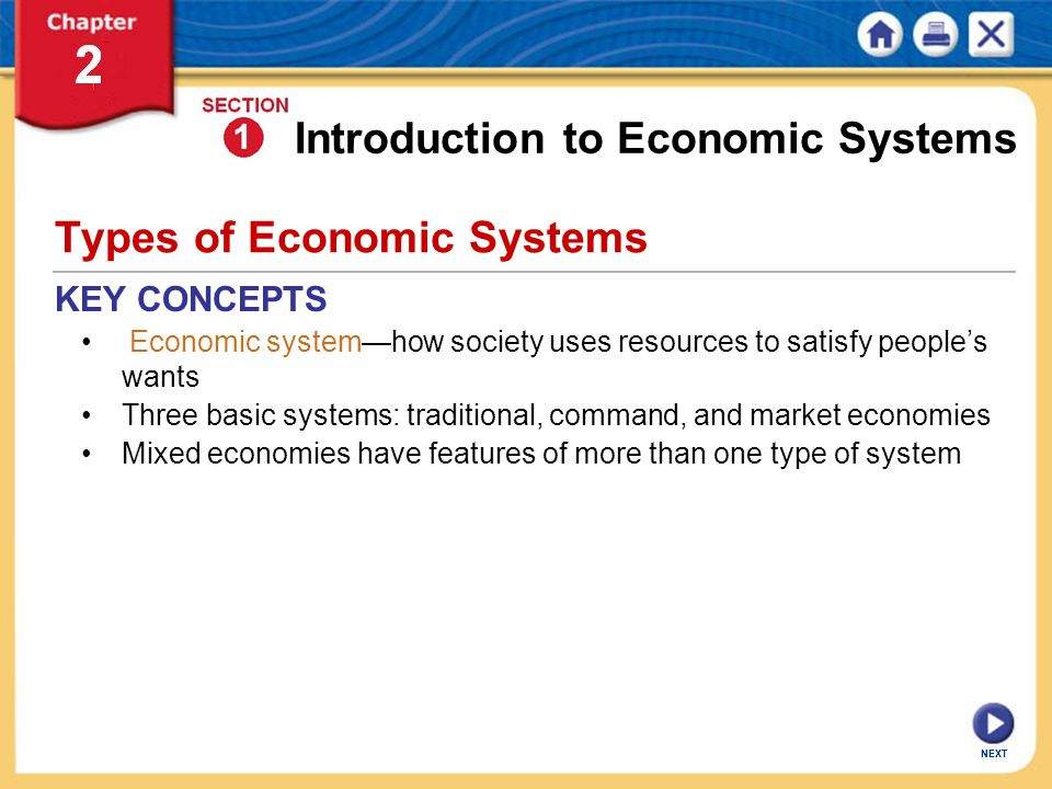 Types Of Economies cvfreepro