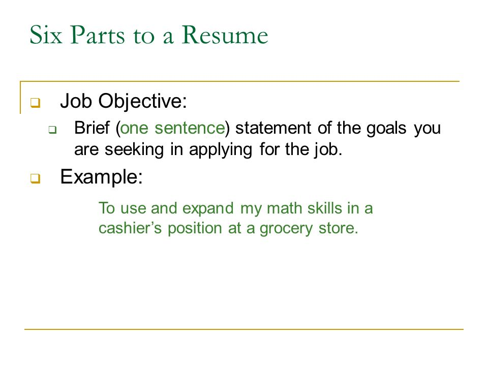 Writing a Resume - ppt download