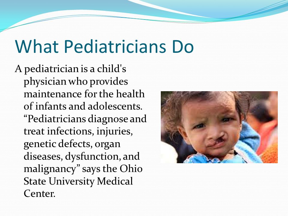 Pediatrician Katie Richart - ppt download - Pediatrician Job Description