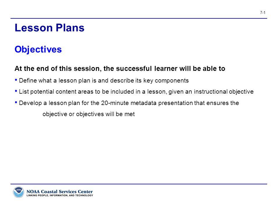 Lesson Plans Objectives - ppt video online download