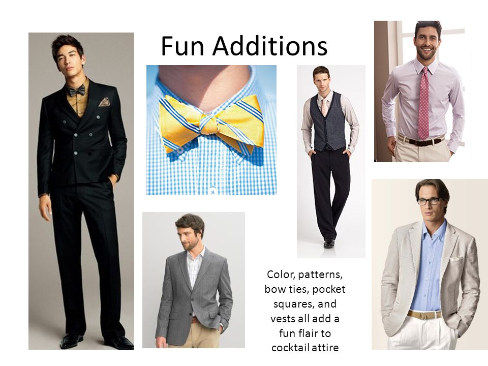Professional Dress For Men Women For All Occasions Ppt