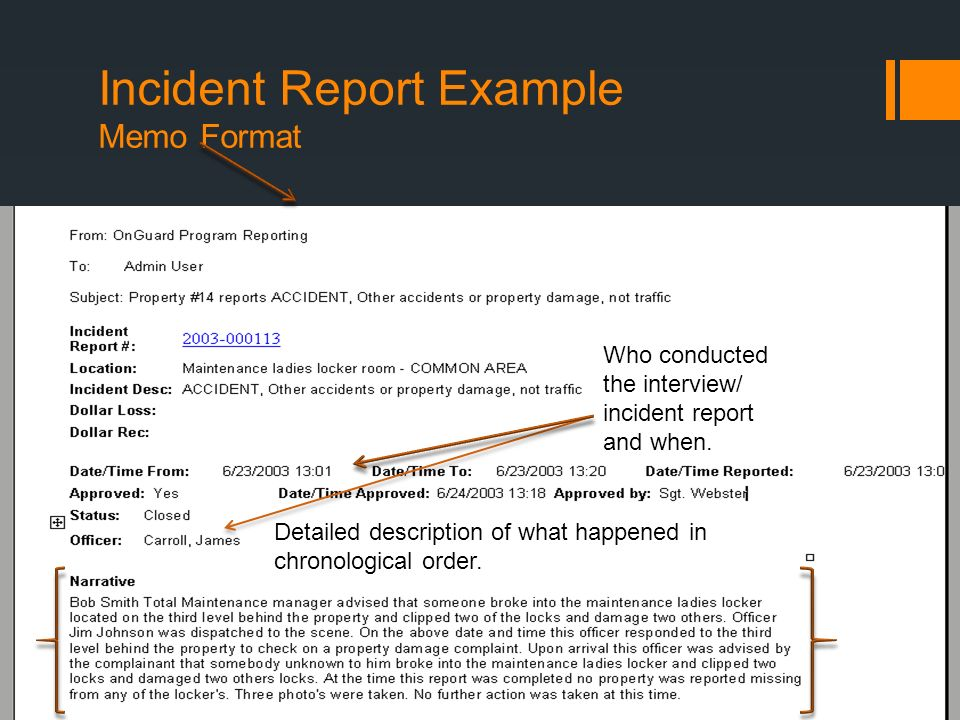 Writing Informal Reports - ppt video online download