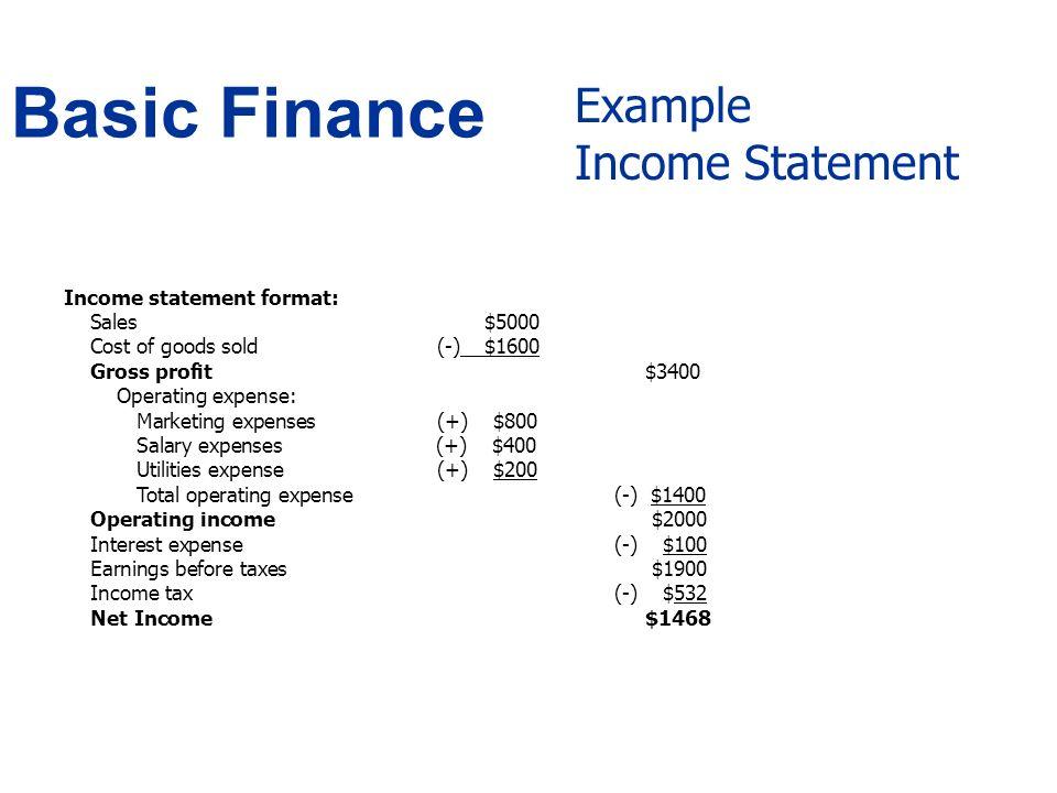 Basic Finance - ppt video online download
