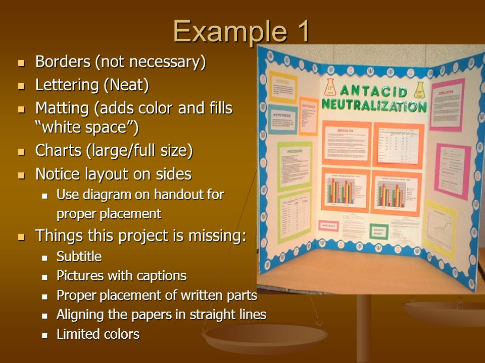 Science Fair Display Boards - ppt video online download