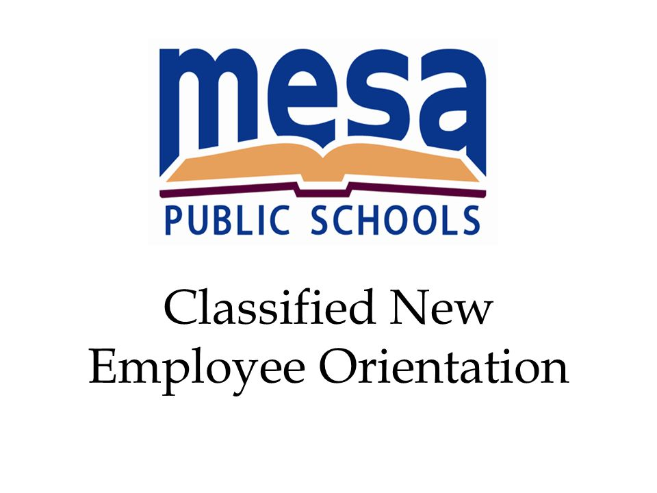 Classified New Employee Orientation - ppt video online download