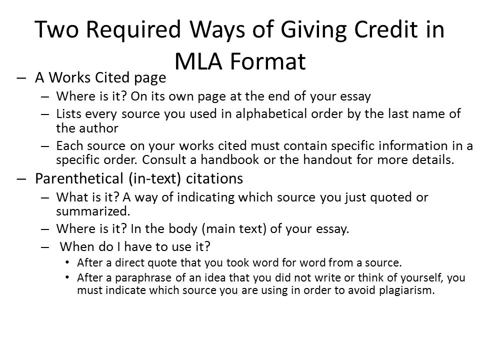 Mla format citation in essay Homework Academic Service - Mla Format For Citations