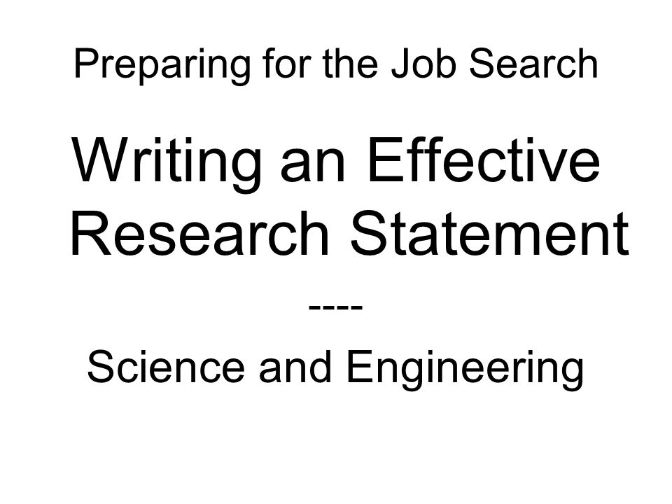 Preparing for the Job Search - ppt video online download