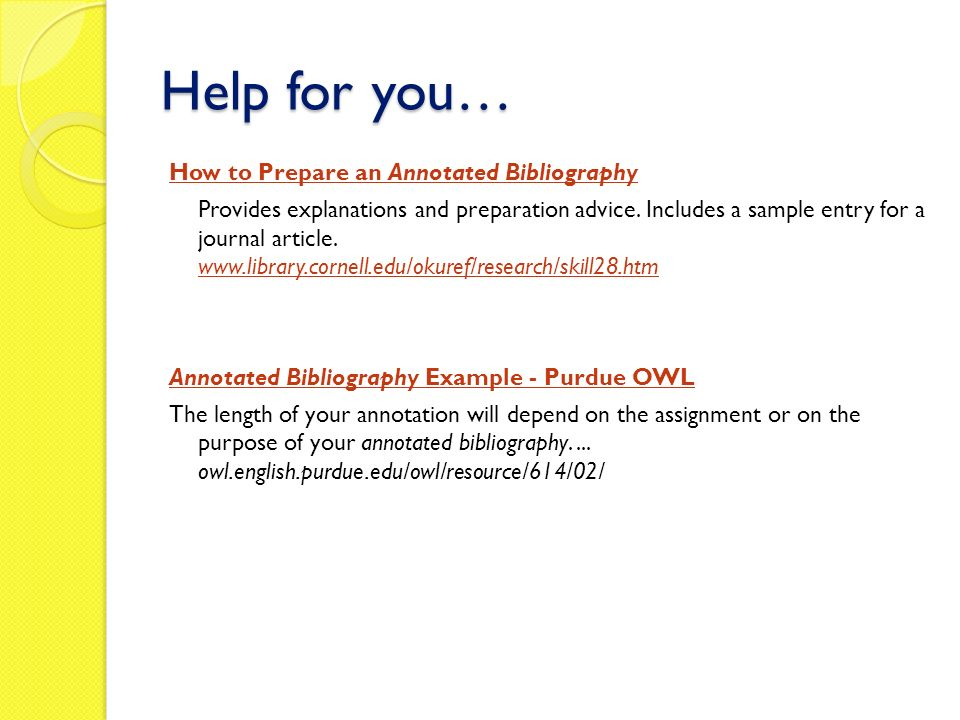 Buy annotated bibliography assignment - annotated bibliography template