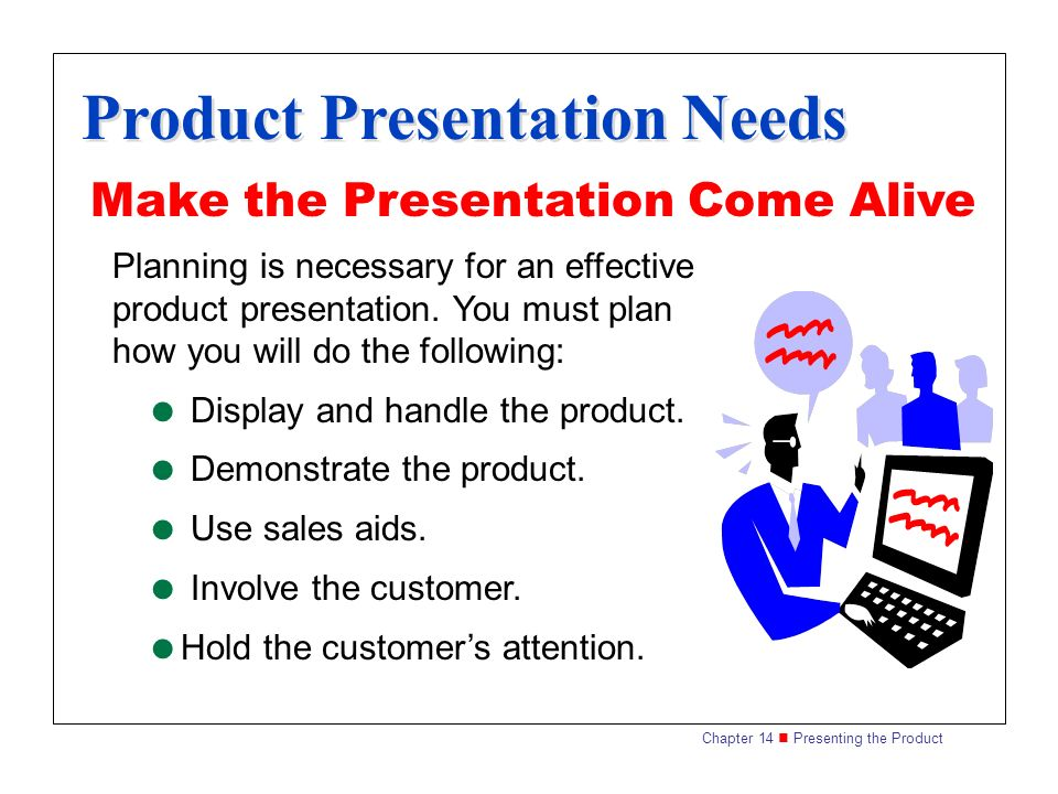 Product Presentation Techniques - ppt download