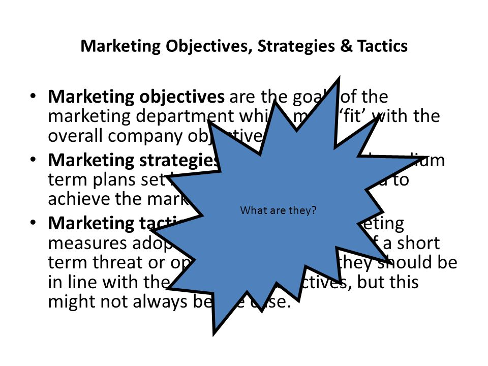 What Are Marketing Objectives Examples amp Overview - oukasinfo