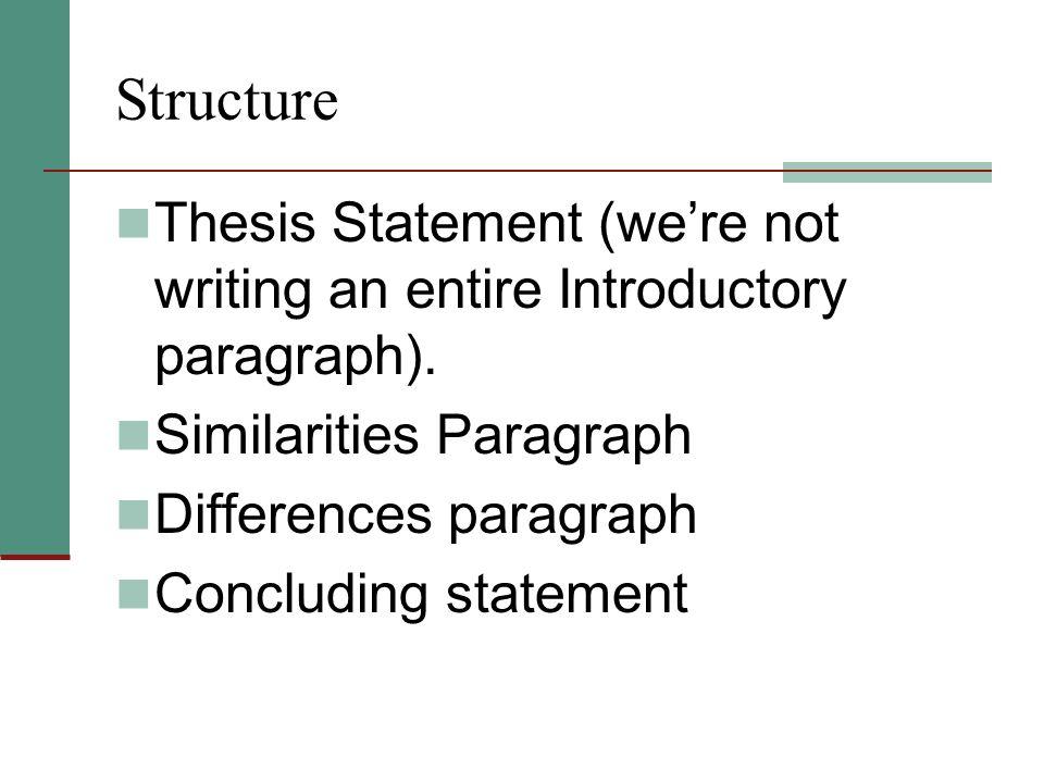 Comparison Contrast Essay - ppt video online download