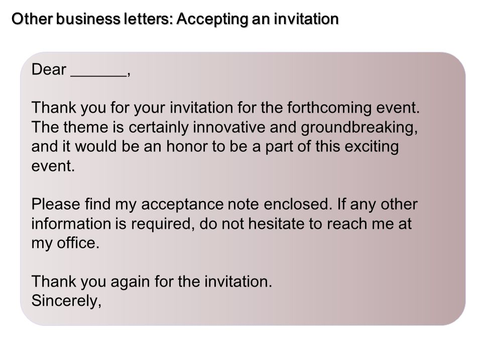 Sample business letters Inquiry - ppt video online download