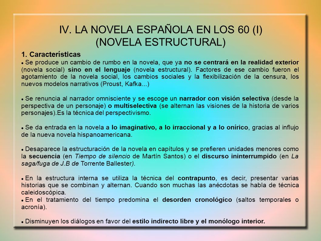 Estilo Indirecto Libre Ies Tirso De Molina Ppt Video Online Descargar