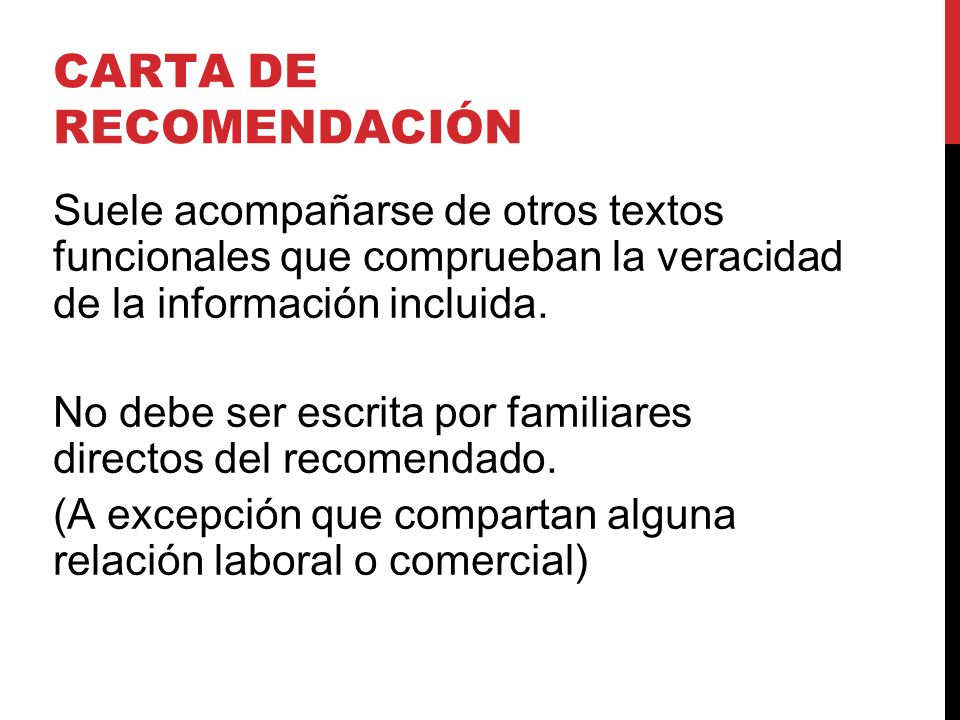 Carta De Recomendacion Personales Ejemplos cvfreepro
