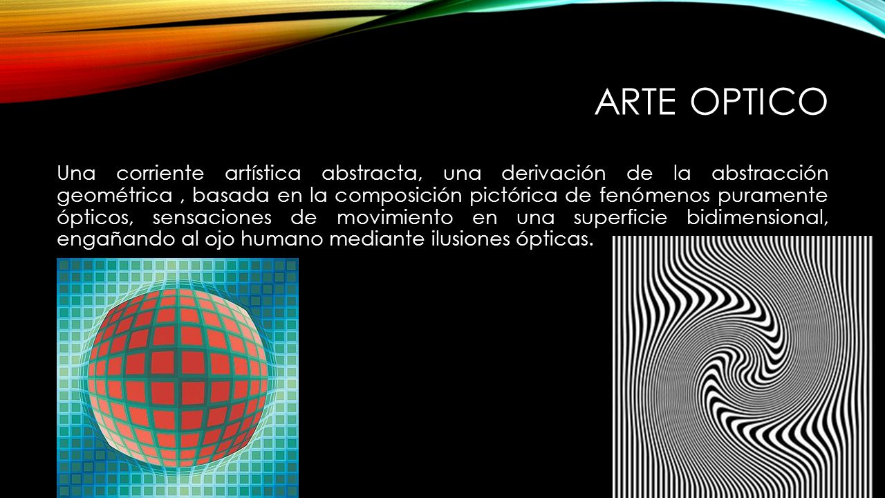 Arte Optico De Obra Victor Vasarely Y El Op Art Ppt Video Online Descargar