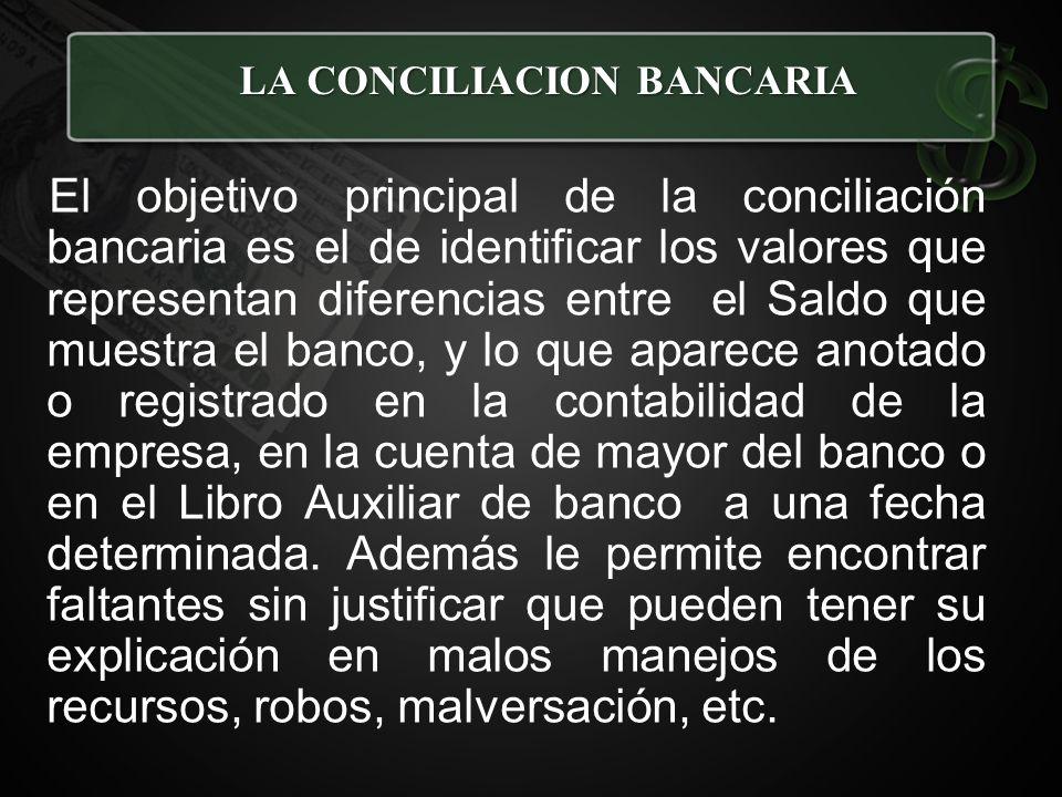 CONCILIACION BANCARIA - ppt video online descargar