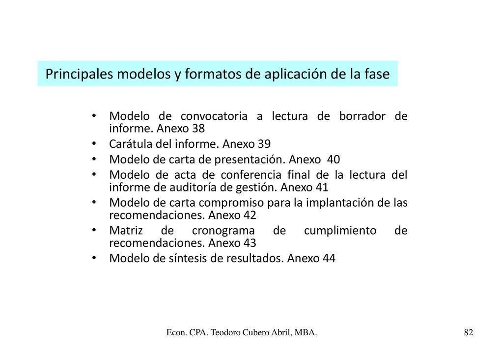 Image Of Modelo De Carta Informe De Gestion Ejemplo de Actas e - formatos de informes gerenciales