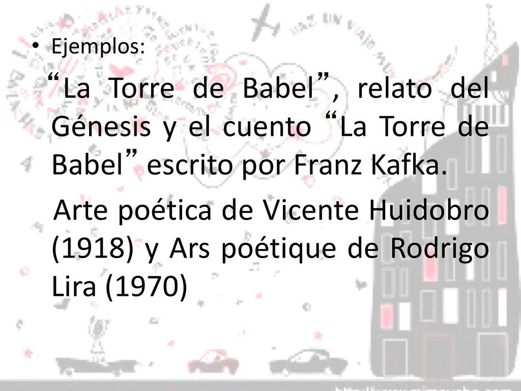 Arte Poetica Analisis Vicente Huidobro Intertextualidad Ppt Descargar