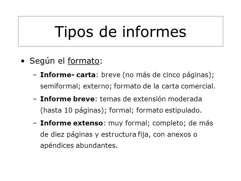 El INFORME Lic Patricia Nigro - ppt video online descargar - formatos de informes gerenciales
