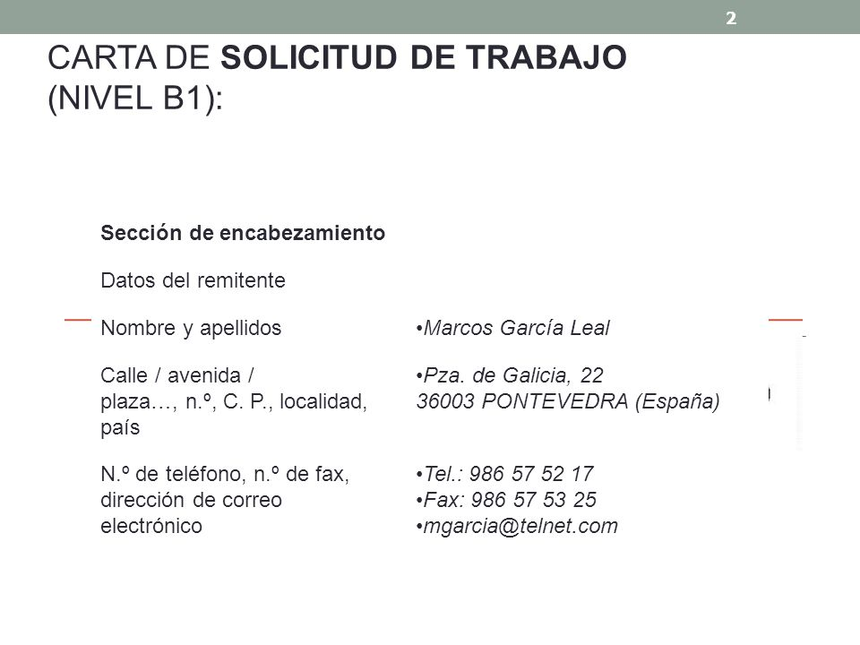 CARTAS FORMALES 1 SOLICITAR EMPLEO - ppt video online descargar