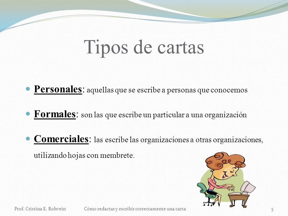 Las cartas - ppt video online descargar - cartas profesionales