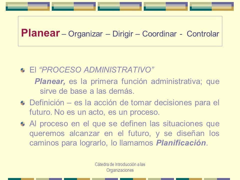 Planear \u2013 Organizar \u2013 Dirigir \u2013 Coordinar - Controlar - ppt video