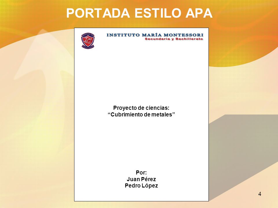 Formato para trabajos escritos estilo APA - ppt video online descargar