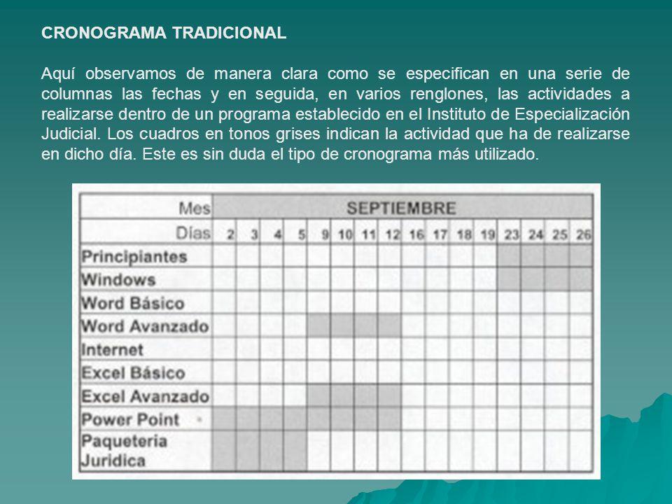 CRONOGRAMA DE ACTIVIDADES - ppt video online descargar