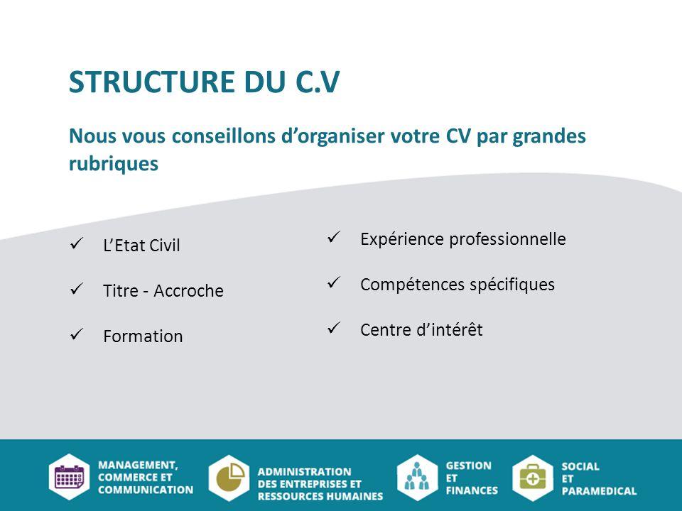 competences specifiques cv