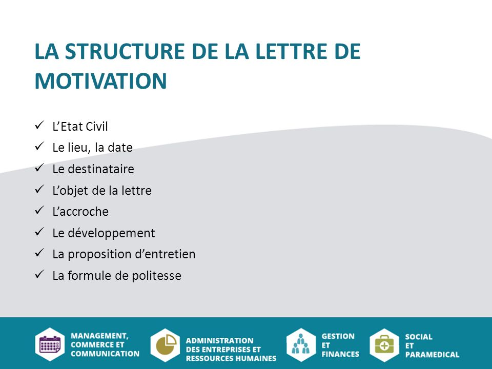 lettre de motivation introduire le cv