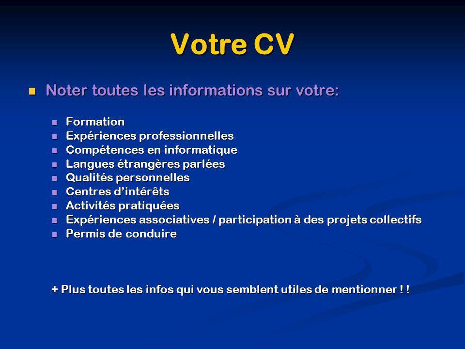 mentionner les langues sur cv