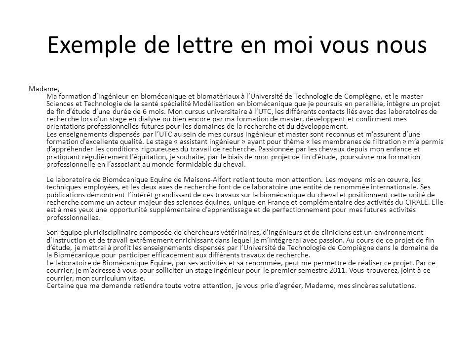 lettre de motivation ou cv en premier