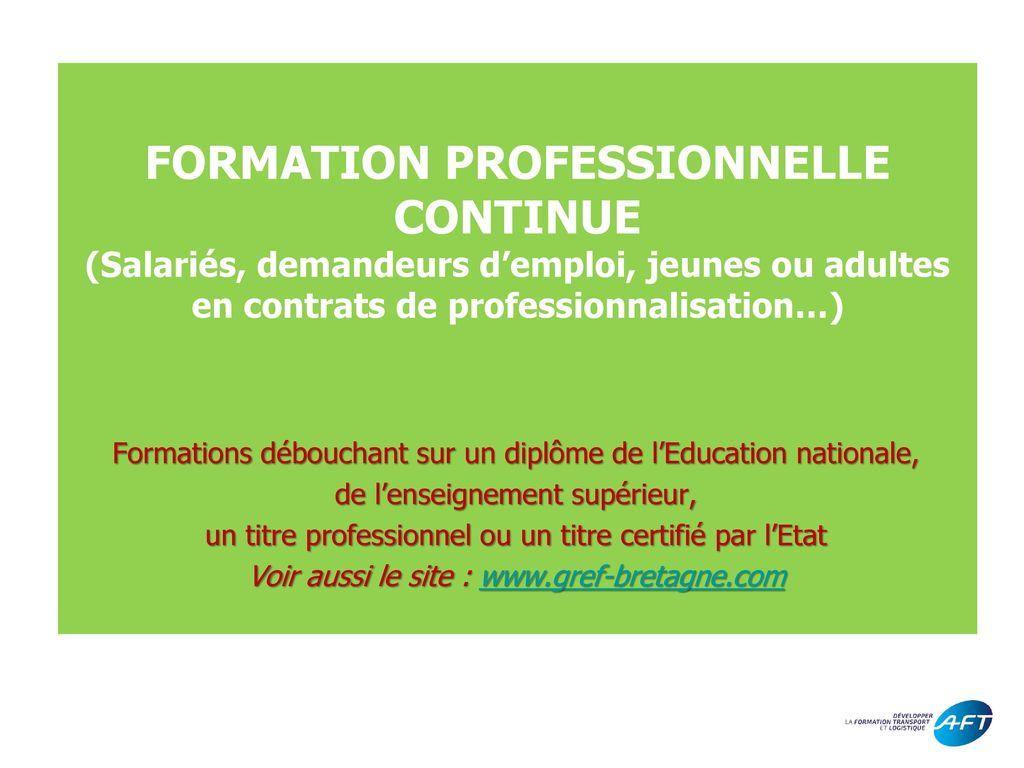 education ou formation sur cv