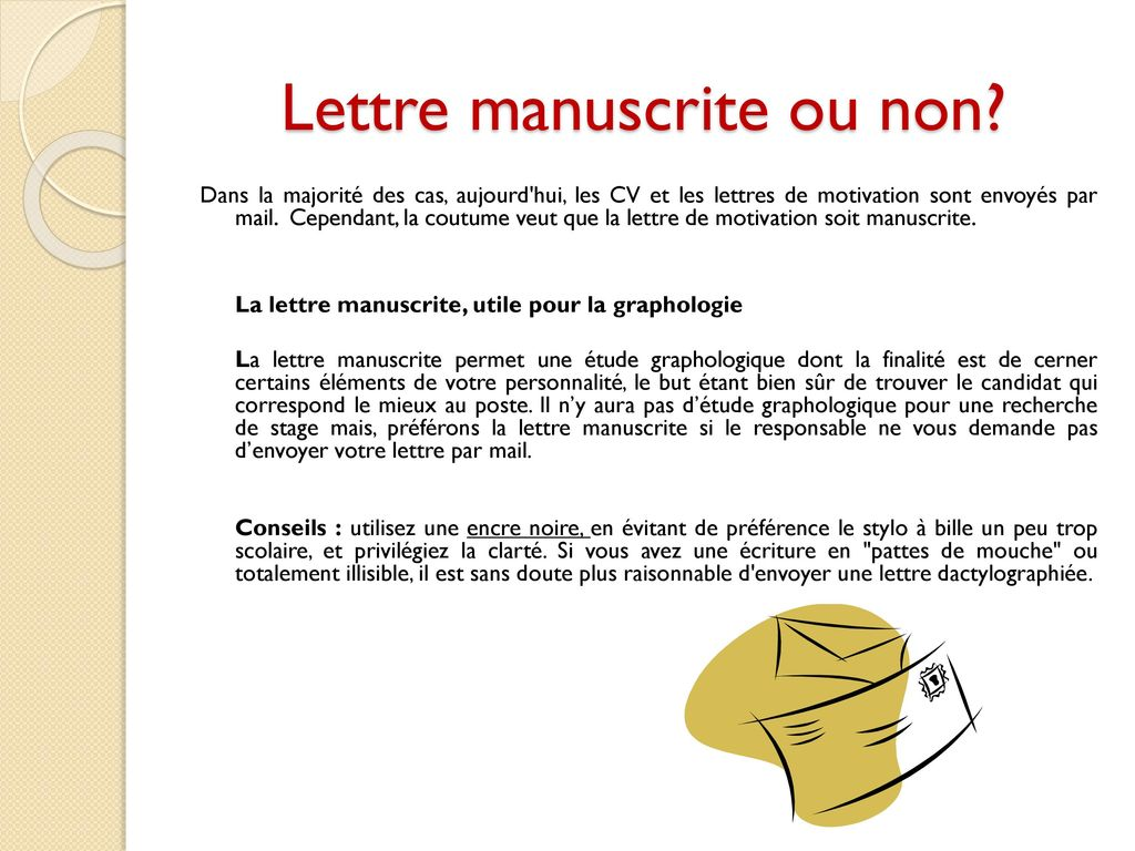 lettre motivation cv par mail