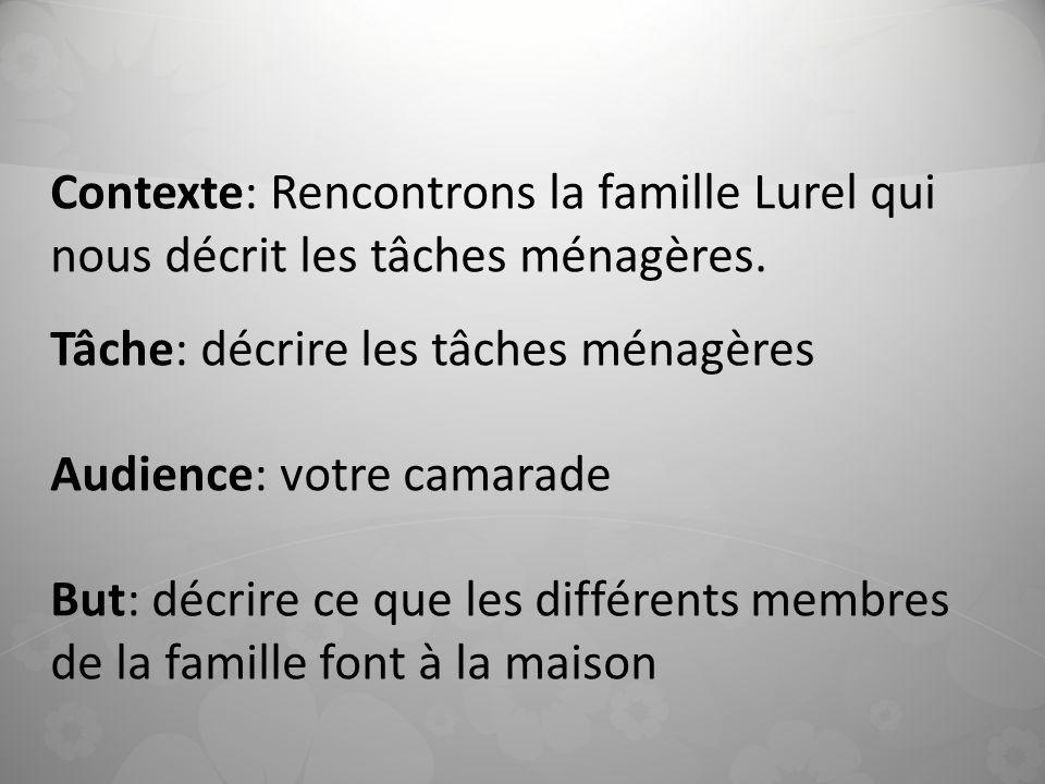 CAT \u2013 chap 4 \u2013B Les tâches ménagères - ppt télécharger - les taches menageres