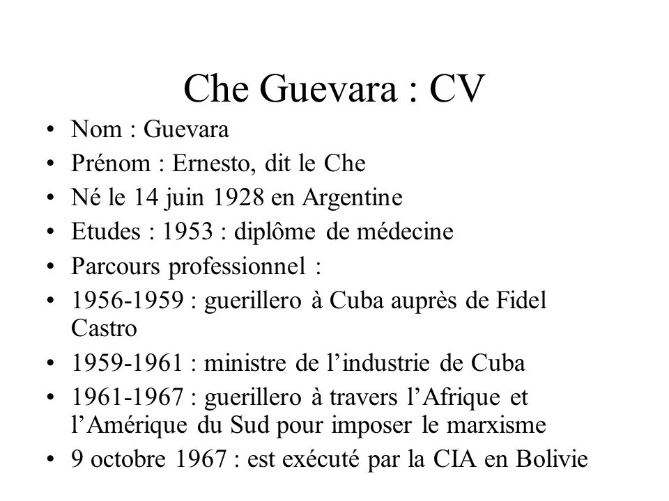 legende cv professionnel
