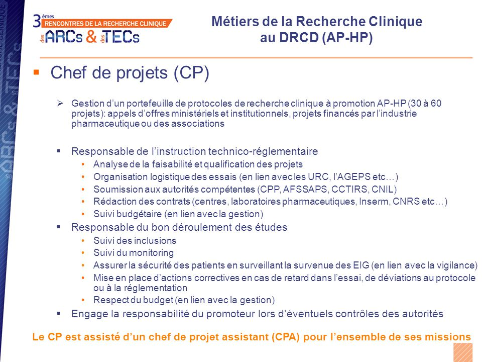attache de recherche clinique exemple cv